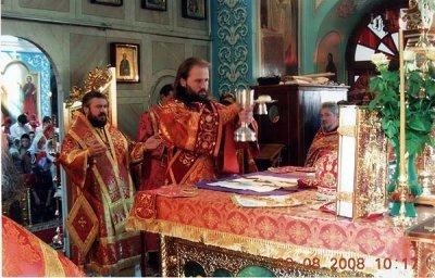 Праздрование храмового праздника